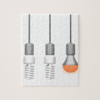 Quebra-cabeça Luz de incandescência original do diodo emissor de