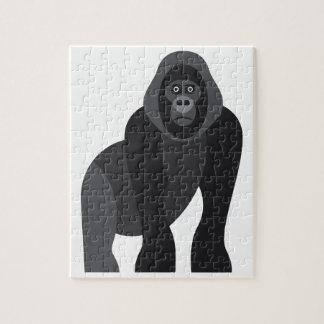 Quebra-cabeça Macaco bonito