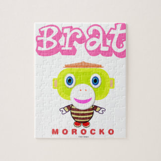 Quebra-cabeça Macaco-Morocko Pirralho-Bonito