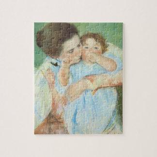 Quebra-cabeça Mãe e criança por Mary Cassatt, belas artes do
