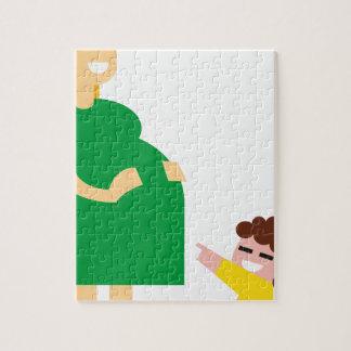 Quebra-cabeça Mãe e miúdo