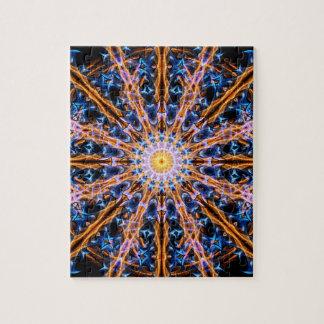 Quebra-cabeça Mandala da estrela da alquimia