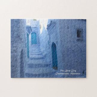 Quebra-cabeça Marrocos, Chefchaouen, a cidade azul