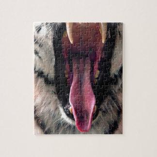 Quebra-cabeça Maxilas do rolamento do tigre dos alugueres