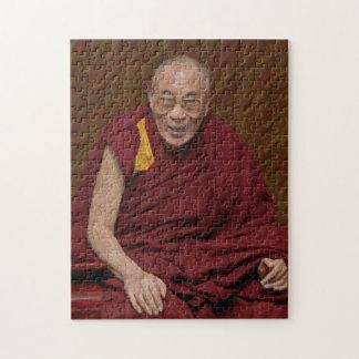 Quebra-cabeça Meditação budista Yog do budismo de Dalai Lama