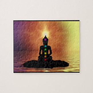 Quebra-cabeça Meditating de Chakra