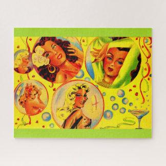 Quebra-cabeça meninas do encanto dos anos 40