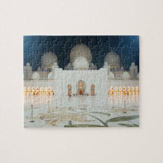 Quebra-cabeça Mesquita grande, Abu Dhabi, UAE, United Arab