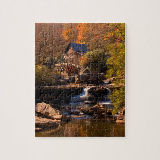 Quebra-cabeça Moinho 8x10 do outono