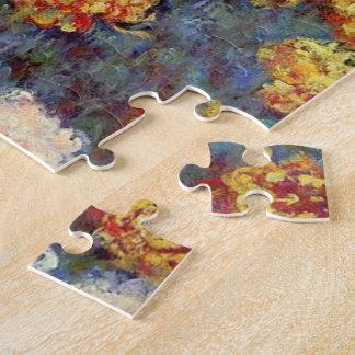 Quebra-cabeça Monet - cama dos crisântemos