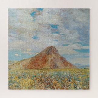 Quebra-cabeça Montículo de Sand Springs por Childe Hassam, arte