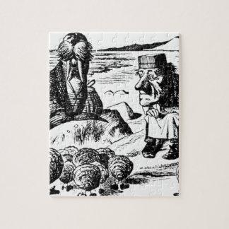 Quebra-cabeça Morsa, Carpeter e ostras