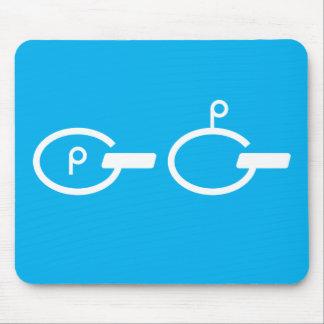Quebra-cabeça Mousepad de Pong do sibilo (sibilo,