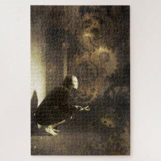 Quebra-cabeça Mulher de Steampunk