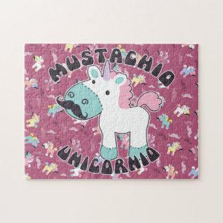 Quebra-cabeça Mustachio Unicornio