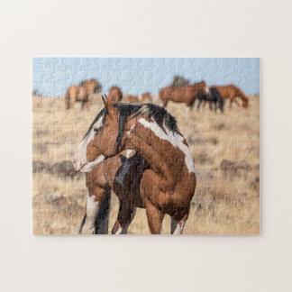 Quebra-cabeça Mustang selvagens