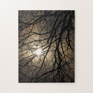 Quebra-cabeça Mystical dos ramos da lua e de