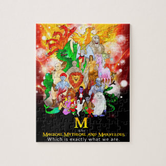 Quebra-cabeça Mythical e maravilhoso mágico das