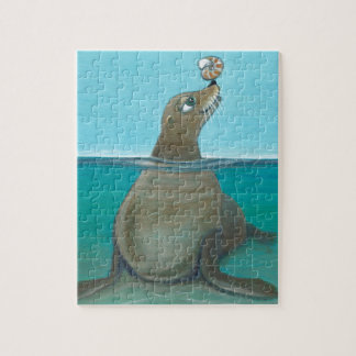 """Quebra-cabeça """"Nautilus"""" o leão de mar"""