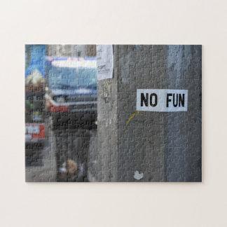 Quebra-cabeça NENHUMA fotografia urbana New York NY dos grafites