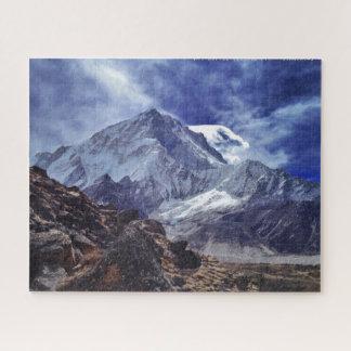 Quebra-cabeça Neve da natureza de india nepal da montanha de