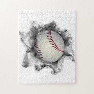 Quebra-cabeça novidade do basebol