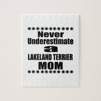Quebra-cabeça Nunca subestime a mamã de LAKELAND TERRIER