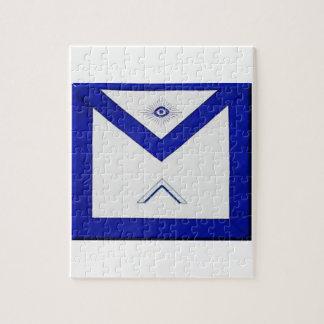 Quebra-cabeça O avental do mestre do Freemason