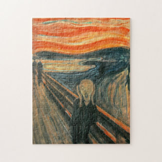 Quebra-cabeça O gritar por Edvard Munch