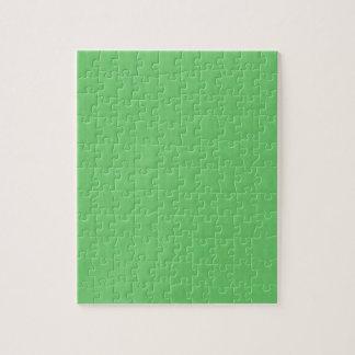 Quebra-cabeça O modelo verde DIY do vazio da textura adiciona a