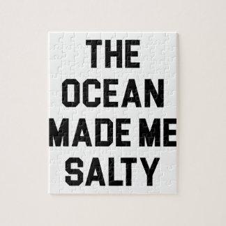 Quebra-cabeça O oceano fez-me salgado