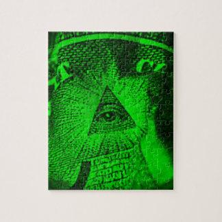 Quebra-cabeça O olho de Illuminati