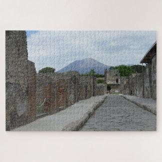 Quebra-cabeça O Pompeii-Vesúvio
