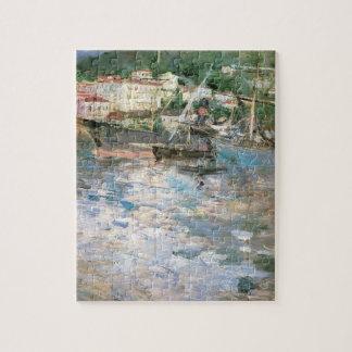 Quebra-cabeça O porto, agradável por Berthe Morisot, belas artes