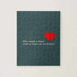 Quebra-cabeça O que é o amor conseguiu fazer com ele