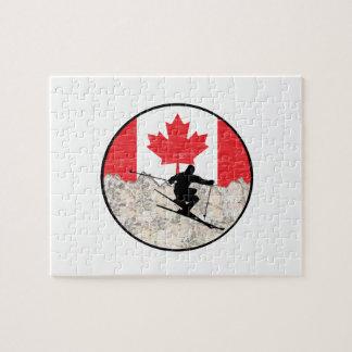 Quebra-cabeça Oh Canadá