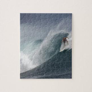 Quebra-cabeça Onda surfando abstrata do mar