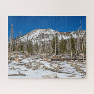 Quebra-cabeça Opinião de Mammoth Mountain do lago em ferradura