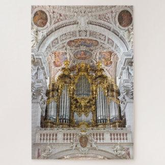 Quebra-cabeça Órgão de tubulação na catedral de Passau, Alemanha
