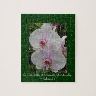 Quebra-cabeça Orquídea - flor cor-de-rosa (2:3 de Colossians)