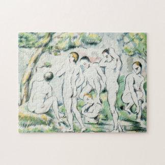 Quebra-cabeça Os Bathers, placa pequena