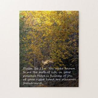 Quebra-cabeça Outono do 16:11 do salmo