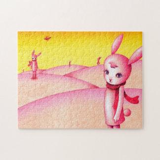 Quebra-cabeça País do coelho