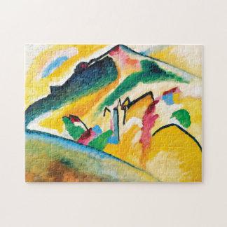 Quebra-cabeça Paisagem do outono por Wassily Kandinsky