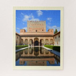 Quebra-cabeça Palácio de Alhambra