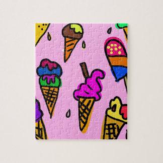 Quebra-cabeça Papel de parede do sorvete