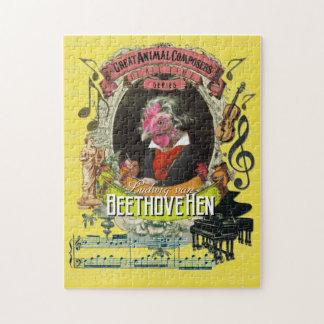 Quebra-cabeça Paródia animal de Beethoven do compositor de