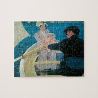 Quebra-cabeça Partido por Mary Cassatt, belas artes do barco do