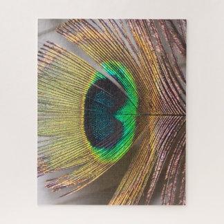 Quebra-cabeça Pena do pavão