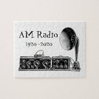 Quebra-cabeça Personalize o receptor de rádio do AM do vintage